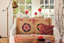 Kodin sisustus Dreams & Ideas / Värien käyttö, suhteet, tilaratkaisuja, kauniita esineitä, huonekasvit.