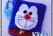 Purse Crochet K&Co. / ♥ The World Inside a Bag ♥
