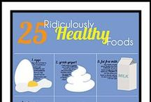Health / Healthy food and living.