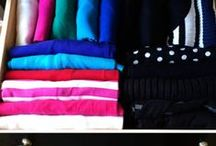 """My Home Organization / A step-by-step approach for implementing the KonMari system as outlined in the book, """"The Life-changing Magic of Tidying Up."""""""