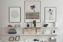 WALLS / Scandinavian walls decor ideas