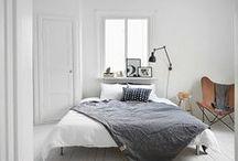 BEDROOM / Scandinavian bedroom