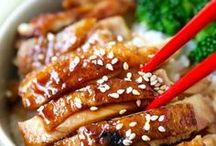 Asian Dinner Recipes / The best asian recipes! Perfect for dinners and easy to make! Noodles, chicken, beef and more! Delicious!