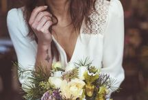 Rustic-Romantic Wedding {Ideas} / braids, wild flowers, lovely cakes, pretty dresses,  down to earth and very romantic wedding ideas <3