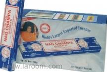 Incienso Nag Champa / Laroom es el distribuidor oficial de todos los Inciensos Nag Champa.
