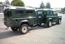 Land Rover Defender Trailers / Trailers made from Land Rover Defender and trailers well suited for Defenders