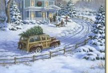 Vintage Christmas / by Christina Clelland