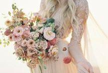 *Pastel bouquets* / Wedding bouquet inspiration in beautiful pastels.