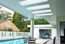 Outdoor spaces / Stylish design, creative ideas for outdoor spaces.