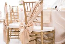 Wedding Theme Gold & Blush