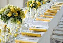 Wedding Theme Mellow Yellow