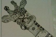 Măzgălituri / Desene de-ale mele..