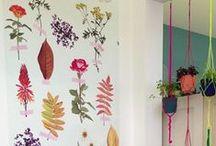 Amazing walls / Decoración, wall paper, decorated walls, murales