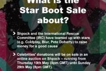 Star Boot Sale / Shpock was hosting a very special online auction between the 19th of May to 29th of May 2016 - whereby famous stars donated items to be auctioned off for a great cause. In cooperation with the IRC and the Star Boot Sale we wanted to help people in need.