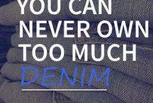 ❤ for Denim / Denim, denim, denim, denim....All you ever need is DENIM. #Shpock