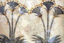 Fresco, mosaics and wall decoration