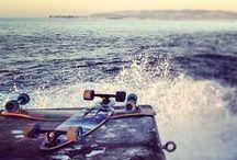 longboard*skateboard