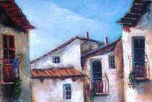 Paisajes pinturas / www.artdecelia.com  www.elartedecelia.blogspot.com