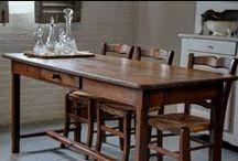 Antieke tafels en brocante / Mooi antiek en interieur