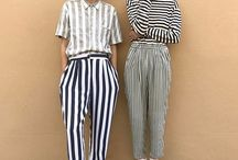 ohlalahydi // how to style #stripes / stripes, vertical, horizontal, colored or black/blue white