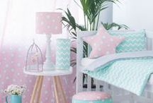 Home - inspirations / girls' room