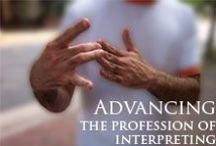 just for 'terps / Information and resources for ASL interpreters