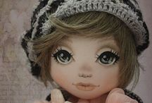 Handmade dolls & animals / Lovely dolls en mini fashion..also made bij hand.