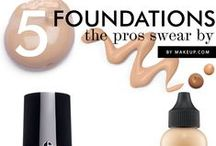 Concealer, Foundation, Highlighters-- Oh My! / How to apply makeup to make your skin look healthy and glowing.