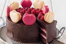 ~ PIEce of CAKE ~ / Zalig zo'n punt taart of cake..wie wilt dit nu niet...trouwens de foto's die mogen er ook zijn...Prachtig!