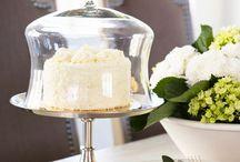 Cake plates / Cake schalen voor o.a. taarten en muffins.