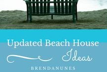 Beach House Updates / Simple and easy ways to update that fab beach house.