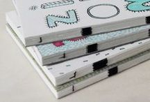 handmade notebooks / Here you can find our notebooks with illustrations outside as well as inside|!