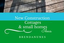 New Construction: Lake Cottages, Homes