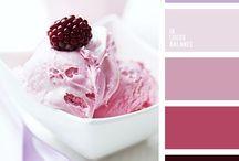 Kleurenpalet Food / Ik ben de eigenaresse van De Voedingsapotheek. Deze kleurpaletten  zijn een extra prikkel voor mijn fantasie.