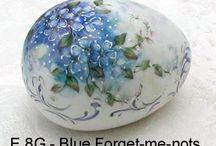 Handmade and Painting eggs / Prachtig gedaan....zeer kunstig...de mozaïek zijn persoonlijk mijn favorieten.
