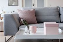 Colour - Dusky Pink / 'Pink is the new neutral' and this means soft, subtle pink-greys from dusky to blush and anywhere in between. Modern and edgy or calm and understated. These are our favourite pinks for the home.