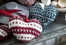 Inspiration - Yuletide Yarn / There's something extra cosey asbout knitted and crochet things  at Christmas-time. Here's some inspiration for festive projects.