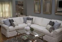 Living Rooms  / Living space's I've designed.