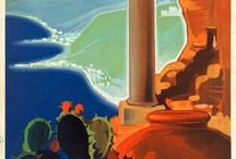 Cool old travel posters / by Mary Dexter