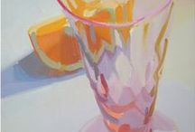 Still Life / I teach a watercolor class and am always looking for fresh ideas on still life subject matter.