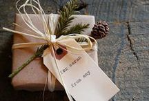 Gifting / Homemade food, craft and packaging ideas for gift-giving.
