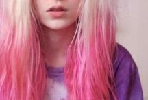 ✖ Hair ✖ / ✖ Hair I want. Want to try. Inspiration for my wavy locks of justice ✖