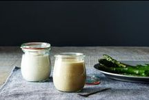Dip + Dress + Drench / Dips, sauces and dressings