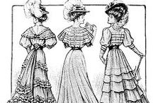 1900's / Fashion and trends from 1900-1910.  / by Adrienne Ingram