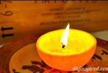 la mia fissa: ♥CANDELE♥ / Candele e candeline in tutte le salse