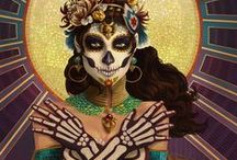 Dia De Los Muertos / My favorite time of the year!!! / by Tad Aschenbrenner