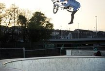 Bmx / Bmx has made me the person I am today and I still love every minute of it! Hope you enjoy what I do on a bmx bike.