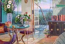 Дом, милый дом в живописи
