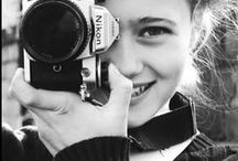 women with cameras / vintage photos that show female photographers