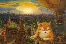 Сказки кота Кузьмы... Художник Маскаев Александр ( Maskaev Alexander)